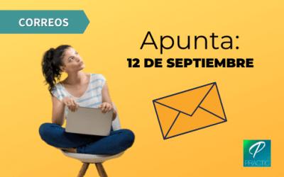 ¡El día 12 de septiembre es la fecha del examen de Correos!