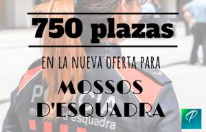 oferta plazas Mossos dEsquadra 2019