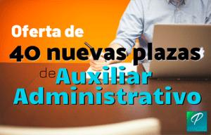 plazas auxiliar administrativo barcelona