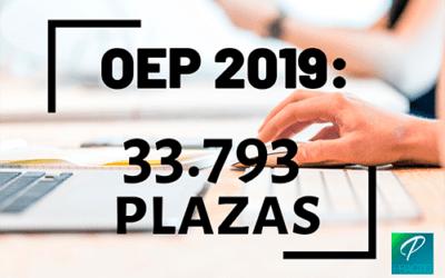 Más de 30.000 plazas en la nueva OEP 2019