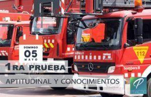 examen bomberos 2019