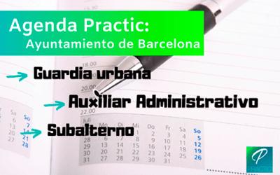 Próximos exámenes para el Ayuntamiento de Barcelona