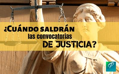 Las fechas de los exámenes de justicia, cada vez más cerca