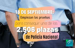 examen policia nacional 2019