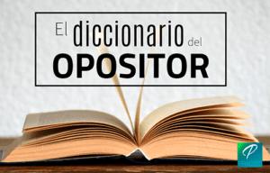 significado de oposiciones