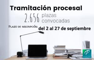 inscripción tramitación procesal