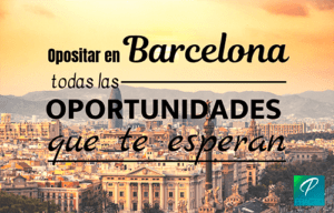 oposiciones en Barcelona 2020
