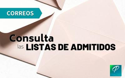 Publicadas las listas de admitidos y la fecha para el examen de Correos