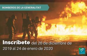oposiciones bomberos generalitat
