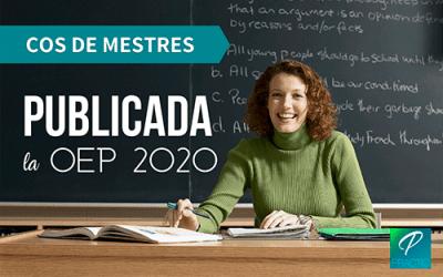 Oferta de plazas para el Cos de Mestres de la Generalitat