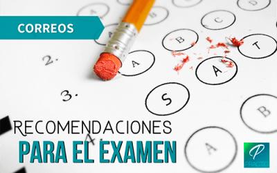 Tips para aprobar el examen de Correos