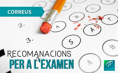 Tips per aprovar l'examen de Correus