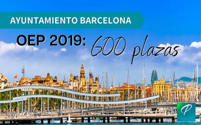 El ayuntamiento de Barcelona anuncia la oferta de empleo público de 2019