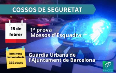 Us portem tota l'actualitat sobre les oposicions als Cossos de Seguretat de Catalunya