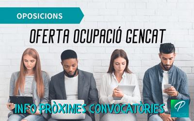 Repàs de la situació actual de les oposicions de la Generalitat