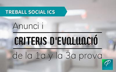 Publicada la data d'examen de Treball Social de l'ICS