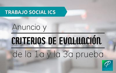 Publicada la fecha de examen de Trabajo Social del ICS