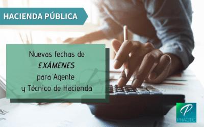 Se publican las fechas de los primeros exámenes de Hacienda Pública