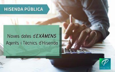 Es publiquen les dates dels primers exàmens d'Hisenda Pública
