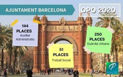 Aprovades 670 places en la nova OEP de l'Ajuntament de Barcelona