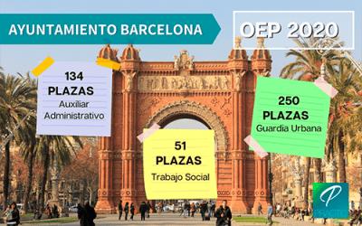 Aprobadas 599 plazas en la nueva OEP del Ayuntamiento de Barcelona
