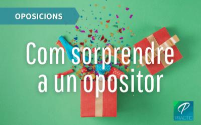 10 idees de regals per opositors