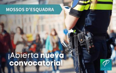 Convocadas 435 plazas para las oposiciones de Mossos d'Esquadra