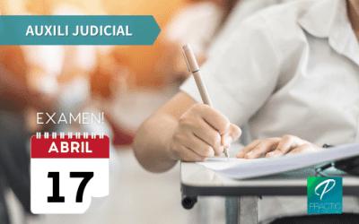 Anunciada la data de l'examen d'auxili judicial!