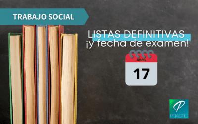 Consulta ja les llistes definitives de l'oposició Treball Social