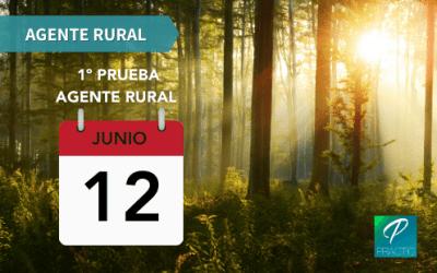 ¡Ya tenemos fecha de examen de Agente Rural!