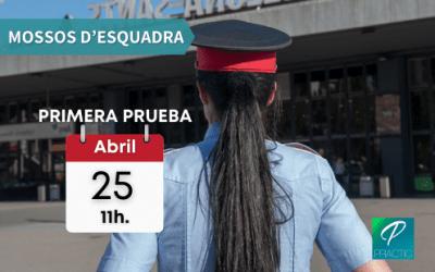 ¡Fecha de la primera prueba del examen de mossos d'escuadra!