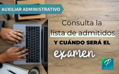 Publicadas listas provisionales de admitidos y posible fecha de examen para Auxiliar Administrativo del Ayuntamiento de Barcelona