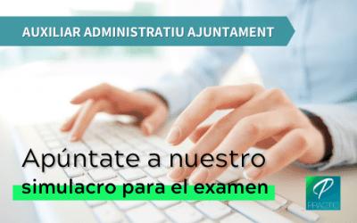 El 10 de julio será el examen de Auxiliar Administrativo del Ayuntamiento de Barcelona