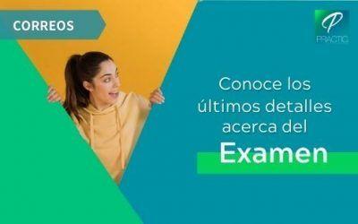 Correos publica los horarios y el lugar del examen del 12 de septiembre