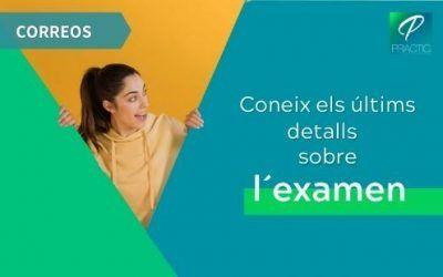 Correus publica els horaris i el lloc de l'examen del 12 de setembre