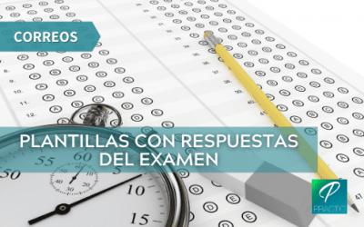 Se han publicado las respuestas del examen de Correos realizado en septiembre